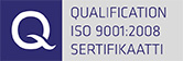 Qualification ISO 9001:2008 Sertifikaatti